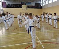 Egzamin w Białostockim Klubie Oyama Karate